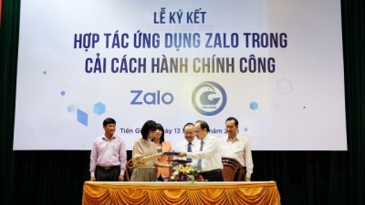 Tien Giang to apply Zalo in building smart urban model