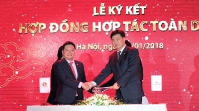 "Kim Long Nam officially ""debuts"" in real estate market"