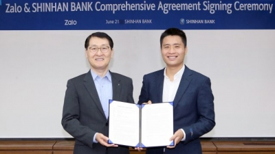 Zalo & Shinhan to cooperate in fintech