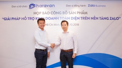 Haravan launches business support solution on Zalo