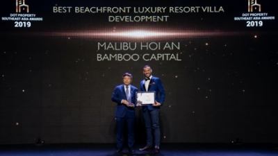 Malibu Hoi An a double winner at Dot Property Southeast Asia Awards