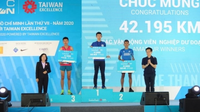 Taiwan Excellence promotes community values at HCMC Marathon 2020