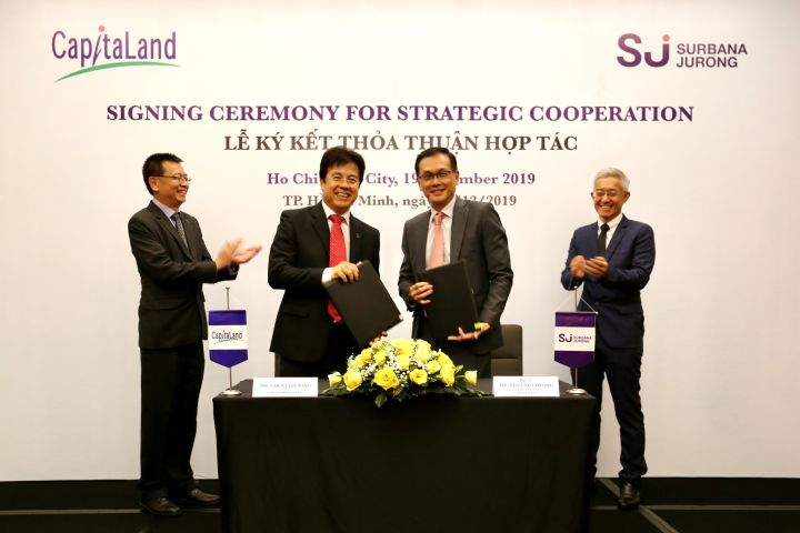 CapitaLand Vietnam & Surbana Jurong collaborate on smart city solutions