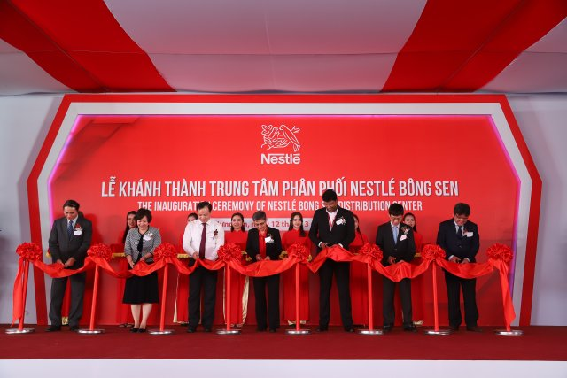 Nestlé Vietnam opens Hung Yen distribution center